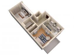 Продается квартира в новом доме,пр. Античный!!!
