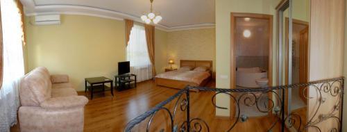 Спальня, общий вид второго этажа