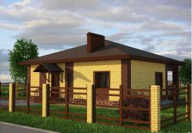 """Дом 91,68 м² в комплектации """"мини"""", Ваш коттедж в Великом Новгороде. ИПОТЕКА ОТ 3% ГОДОВЫХ - ЭТО РЕАЛЬНО!  ПЕРВОНАЧАЛЬНЫЙ ВЗНОС = 400 000 рублей!  Ваша квартира + Ипотека = Дом"""