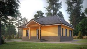 недорого Великий Новгород Теплые каркасные дома 90 и 110 м² по доступной стоимости.