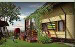 Акция! Двухэтажный дом 168,5 м² со светлыми комнатами и большими окнами. 3 спальни, кабинет, большая кухня-гостинная и ГАРАЖ. Прилегающая частная территория от 600м². ИПОТЕКА 3%
